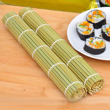 DoreenBeads Eco-Friendly Sushi Tools Bamboo Rolling Mats Sushi Maker Rice Roller Hand Maker DIY Cooking Tools 24*24cm, 1 Piece(China)