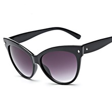 High Quality Fashion Designer Sunglasses for Women Plastic Cat Eye Glasses Lady Summer Clothing Accessories SG021