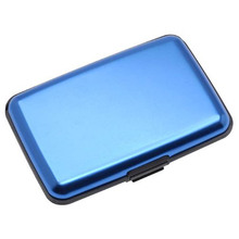 Water Resistance Wallet Credit Card Holder Blocking Aluminium Wallet Credit Card Case