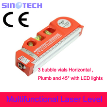Best quality CE Multifunctional Laser Level Marker W/250cm measuring tape LV03(China)
