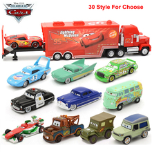 1:64 Disney Pixar Cars Lightning McQueen Mater Diecast Metal Model Car Birthday Chirstmas Gift Educational Toys For Children