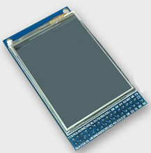 NoEnName_Null 2.4 inch TFT LCD Color Screen Module with PCB Board ILI9341 Drive IC 240*320 Touch Panel(China)