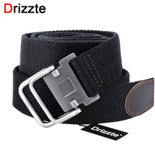 Drizzte 100-150 160 170 180cm Long Plus Size Mens Canvas Cloth Belts Web Belt Black Braided Waist Belt For Jeans XL XXL XXXL 4XL