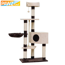 5 Kinds Cat Toy Scratching Multifunction Toy For many Cat Play Domestic Delivery Wood Climbing Tree Standing Frame Cat Jumping