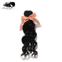 Mocha Hair loose wave Indian Virgin Hair extension 12inch-26inch Nature Color 100% Human Hair Weaves(China)