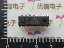 CD4052BE DIP-16 multiplexer / demultiplexer 4 -channel - A1166(China)