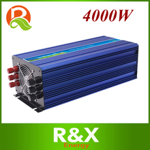 4000W off grid inverter. 4000w pure sine wave inverter. wind/solar hybrid inverter. DC12V/24V/48V to AC100-120V AC220-240V.