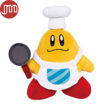 New Super Mario Little Buddy Kirby Cook Plush Toy Chef Cooking Baby Dolls 20cm Anime Juguetes Brinquedos Kids Gift