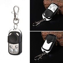 433MHz 4 Channel RF Remote Control duplicator Copy Electric Gate garage door opener come Remote Key Fob with Keychain