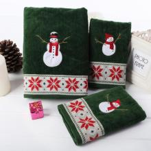 3pcs Christmas series of thick cotton Towel candy Colors children face small towel child Bath Washing towels Beautiful 35(China)