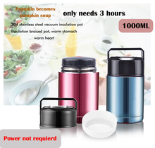1000ML stainless steel 304 Vacuum Flasks Soup cook pot Insulated Thermos Coffee Mug Tea Bottle Milk Travel Mug Thermocup(China)