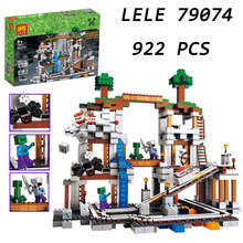 Buy LELE 79074 922PCS world's big mine, children's block, science education boy building, gift toys for $45.07 in AliExpress store