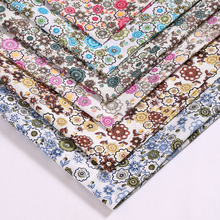 1.5M*1M Polyester plain fabric apparel fabrics multicolor may choose large flower pattern curtain fabric sofa send a scissor