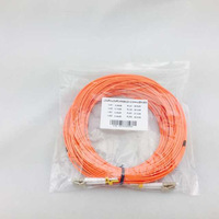 Free Shipping LC-LC fiber optic Patch cord,Duplex,MM,OM2 40meters,2mm fiber patch cord Multi-mode fiber