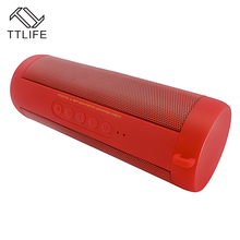 TTLIFE Outdoor Wireless Bluetooth Speaker FM Radio Stereo Powerful Sound IP67 Waterproof Speaker for Xiaomi IPhone Mobilephone