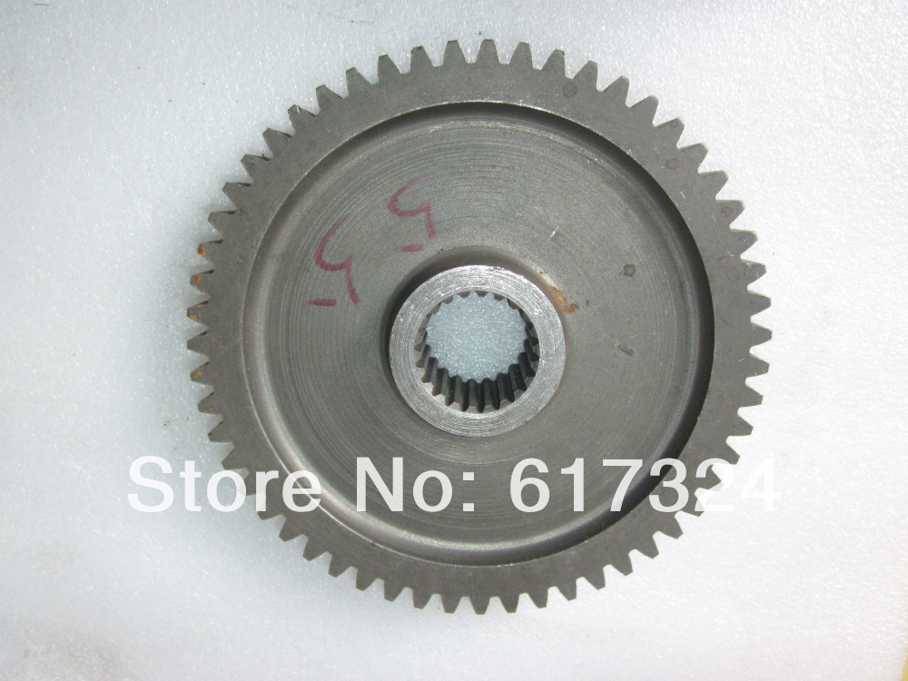 YTO 404 tractor, the PTO driven gear, part number:M300.37C.176, 55 <br>