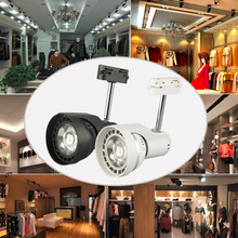24W Shop Display Ceiling LED Lamp Track Spot Light Lamp Rotation NEW Hot