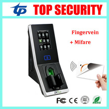 Fingervein and RFID card door access control system TCP/IP fingerprint finger vein time attendance and access controller