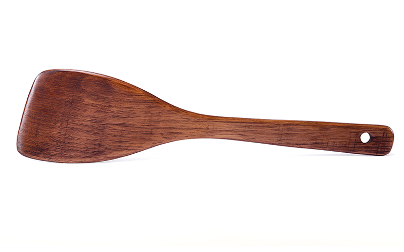 32cm Long Handled Kitchen Turner Wood Spatula Non-Stick Cookware Cooking Tools Durable Wooden Kitchen Utensils Accessories (9)