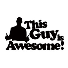 The Awesome Guy Car Styling Sticker Vinyl Decal Aufkleber Scene Stance Static Personality Jdm
