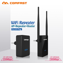 COMFAST 150~300Mbps wi-fi Roteador 2.4GHz Wireless N Wifi Repeater Network Router Range Expander Signal Booster Repetidor(China)