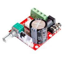 12V Mini Hi-Fi PAM8610 Audio Stereo Amplifier Board 2X10W Dual Channel D Class Lowest Price