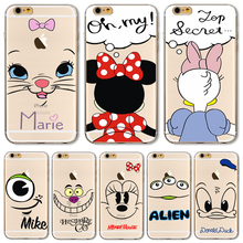 6+/6S+ 5.5'' Soft TPU Case Cover For Apple iPhone 6Plus 6SPlus Cases Cheapest Price Cute Painting High Volume Of Sales