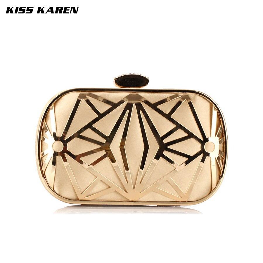 Kiss Karen Hollowed-out Reticular Metal Trendy Women Clutch embreagem Evening Bags Party Clutch Bag Club Elegant Lady Minaudiere<br><br>Aliexpress