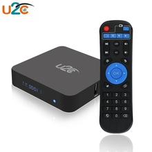 U2C Z - TURBO Android 7.1 Amlogic S912 TV Box RAM DDR3 3G 16G 3D Media Player Support 2.4/5.8GHz WiFi Bluetooth 4.0 USB TF Card