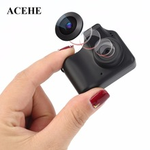 Compact Size Mini Small Counter Design Camera Fashionable Wearable Style High Definition Image Camera For PC Black