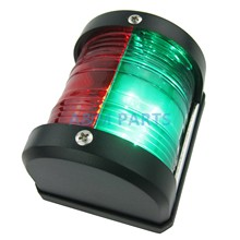 12V LED Marine Bi-Color Navigation Light Waterproof Boat Side Red Green Bow Light Sailing Signal Light(China)