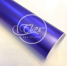 EKER CAR STICKER 1.52x20M 5FTx65FT Free Shipping Hot Sale Air Bubble Free Metallic Purple Car Wrap Vinyl Films Car Stickers(China)