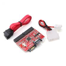 Bi-directional IDE to SATA Converter Card CD-ROM/Hard Disk/HDD 40-pin IDE Port Up to 1.5GB Support ATAPI ATA / 100 IDE