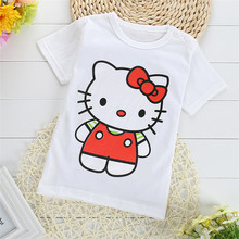 2017 Summer Children Clothing Colorful Graffiti Boys T Shirts Fashion Tops for Girls New Design 100% Cotton Kids Tee 1-7 Years