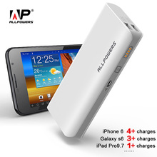 ALLPOWERS Power Bank 15600mAh PowerBank Phone Battery Charger for iPhone 4 4s 5 5s iPhone SE iPhoen 6 6s 7 iPad Samsung LG HTC.(China)
