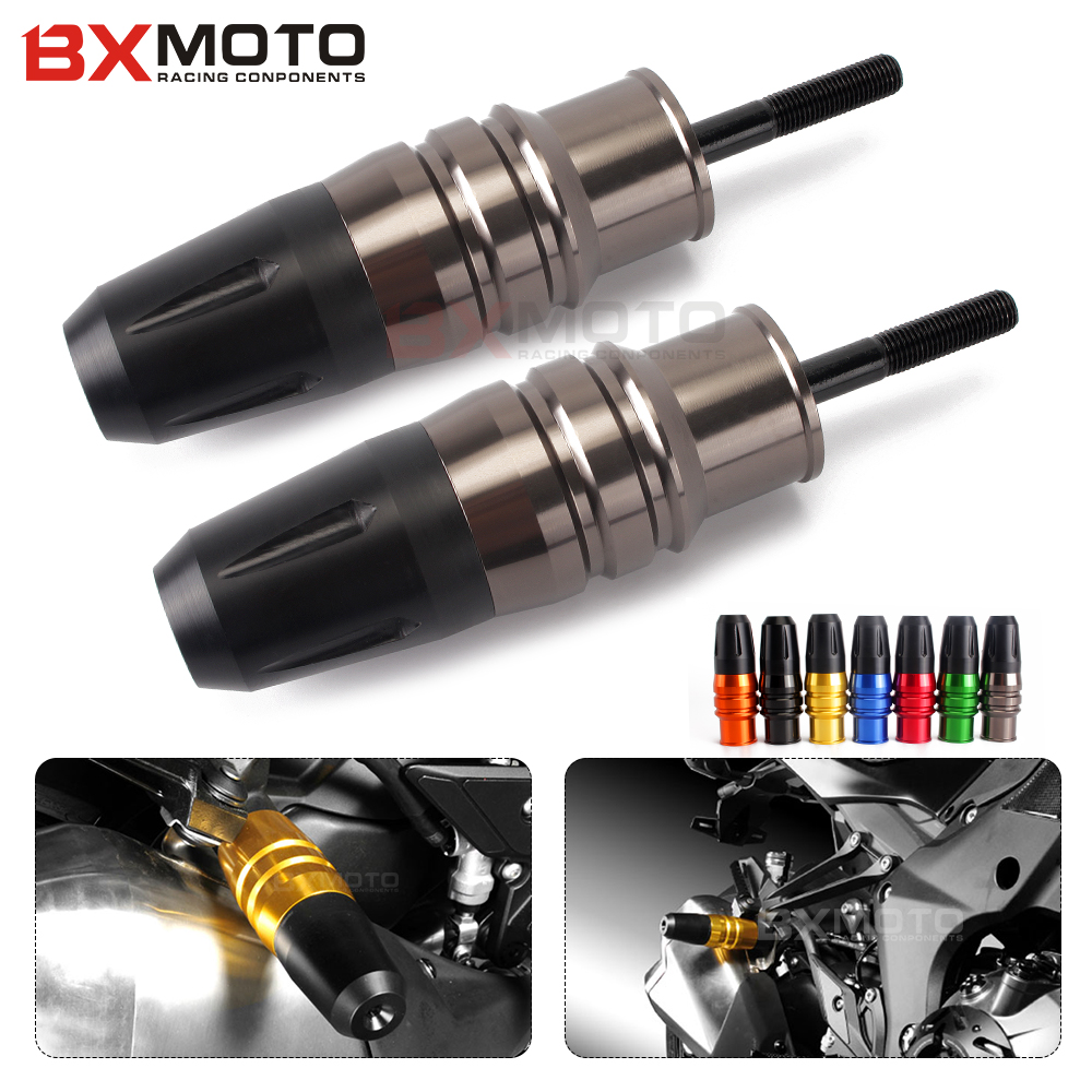 For Kawasaki Z1000 Z1000sx z 1000 sx 2013-2017 CNC Motorcycle Accessories Motorbike Exhaust Sliders Frame Crash Pads Protector<br>