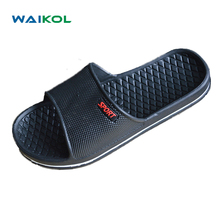 Waikol Mens Shoes Bathroom Skidproof Flat Sandals Summer Home Slippers Casual Indoor Shoes Beach Sandals