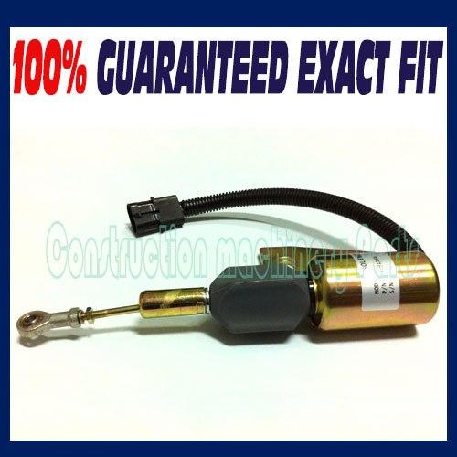 Case IH J991167 3991167 Fuel Shut off Solenoid 87420952 580SL1840 5120 5130 5140<br>