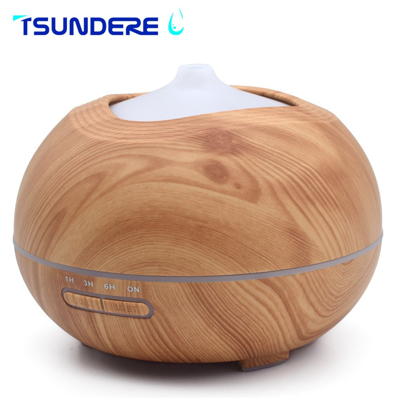 TSUNDERE L Ultrasonic Humidifier Cool Mist Aroma Essential Oil Diffuser Can Put Essential Oil Automatic Shut-off New for Home<br>