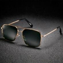 2018 Polarized Sunglasses Men Aviators Glasses Men's Square Sunglasses Women Brand Designer Pilot Mens Eyegalsses UV400