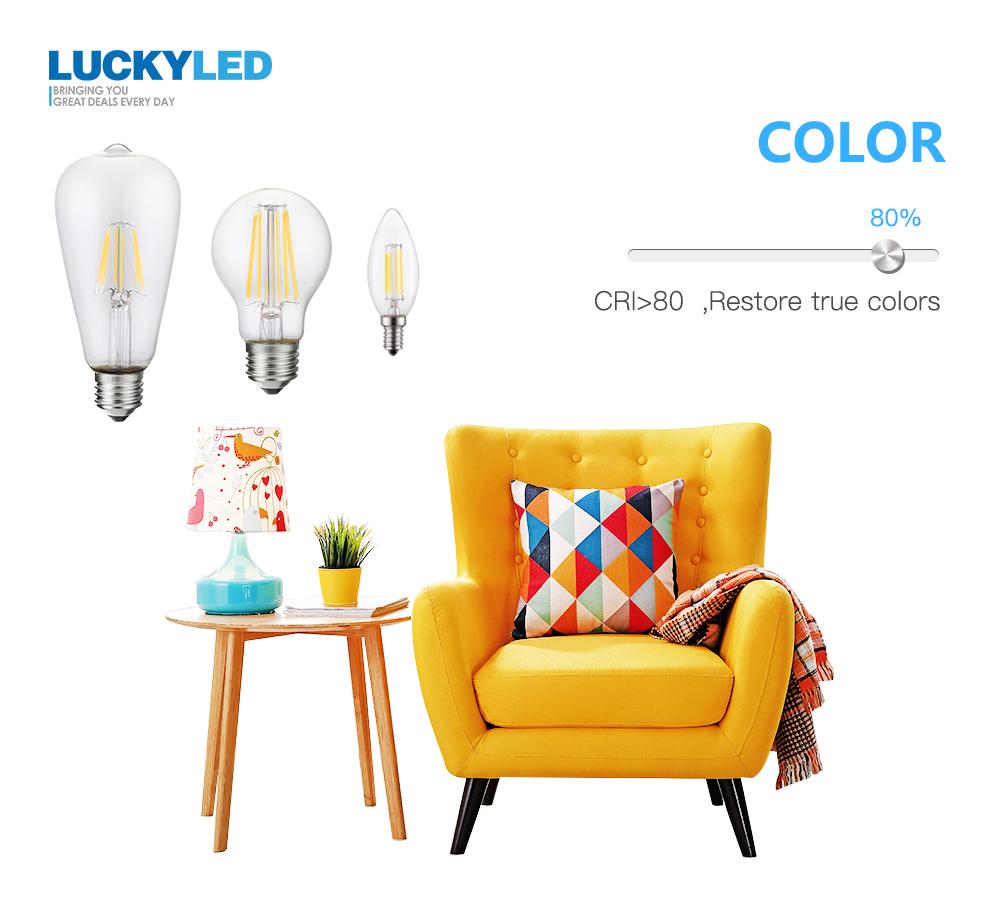 led filament bulb 220V
