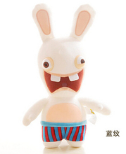Hot Adventure Rayman Raving Rabbids Stuffed Animals 35CM Cute Rabbit Plush Toys Girls Doll Kids Soft Toy For Children Gifts