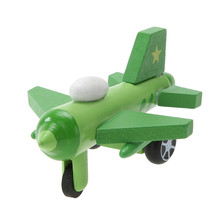 Buy Mini Multi Pattern Wooden Airplane Kids Toys Children Diecasts Cute Wooden Airplane Model Toy Kids Baby Educational Toy Gift for $1.32 in AliExpress store