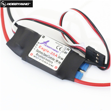 1pcs Original Hobbywing Eagle 20A ESC For Brushed Motor For RC Airplane Plane 370 380 390 280 270 Wholesale(China)