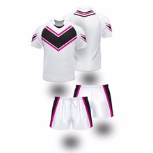 Newest Loose Fit Women Sublimated Rugby Jerseys/ customized Sublimated Rugby Jerseys