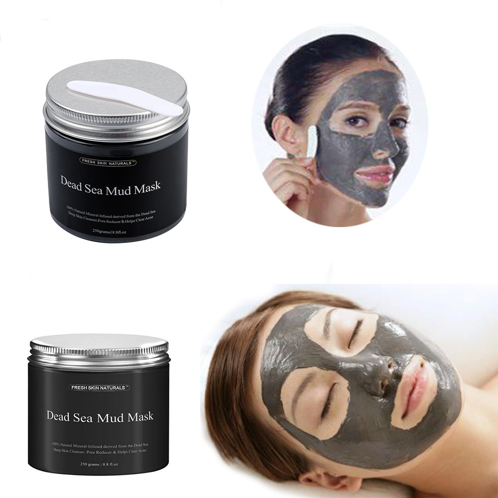 Best Deal New Fashion 250g Women Fask Mud Pure Body Naturals Beauty Dead Sea Mud Mask for Facial Treatment 1pc 2