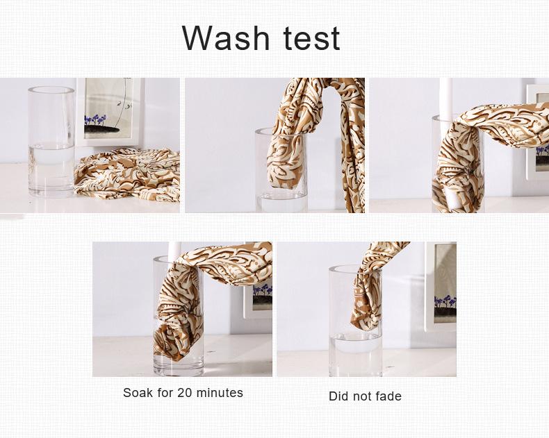 wash test