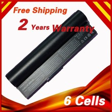 6 CELL 6600mAh Laptop Battery For Asus 90-OA001B1100 A22-700 A22-P701 P22-900 Eee PC 2G 4G Surf 8G 4G-X Eee PC 700 701 900
