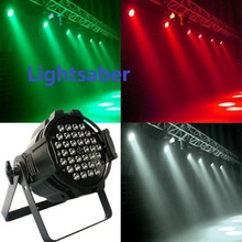 36*3W LED Par Light 64 led par stage lighting LED par 64 Cast Aluminium DMX512 6CH KTV DJ Party Stage lights Fedex/DHL free