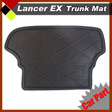Car Floor Protection Trunk Mat  All Weather Heavy Duty SUV Cargo Pad For Lancer EX 2009 Seat Cushion Boot Tray Liner